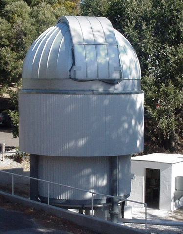CHARA telescope with dome closed.